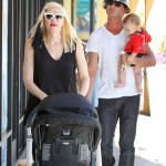 Gwen Stefani Spends Saturday With Family