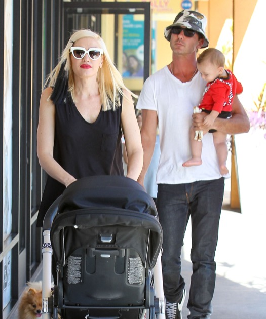 Gwen Stefani & Family Have A Busy Day In Studio City