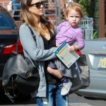 Jessica Alba Runs Errands With Haven