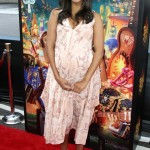 Zoe Saldana Beams on The Book of Life Red Carpet