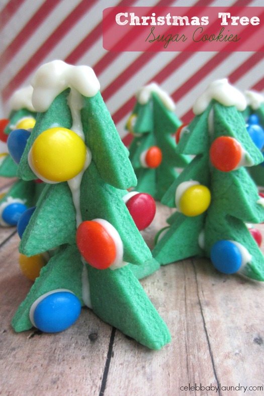 3d Christmas Tree Sugar Cookies Celeb Baby Laundry