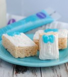 Frozen Inspired Rice Krispie Treat Presents