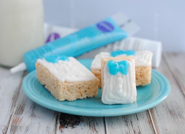 Disney's Frozen Inspired Rice Krispie Treat Presents