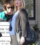 Pregnant Ali Larter Shopping At Barneys New York