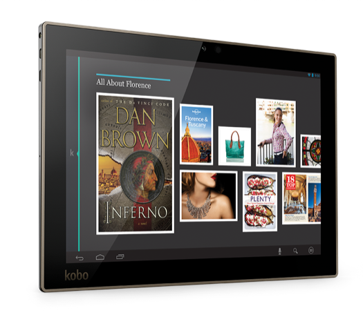 Kobo Arc 10HD: Perfect For Mom & The Whole Family #HolidayGiftGuide