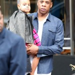 Jay-Z & Beyonce Go Shopping With Blue Ivy