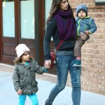 Camila Alves Spends The Day With Vida & Livingston