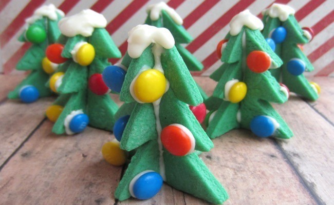 3D Christmas Tree Sugar Cookies