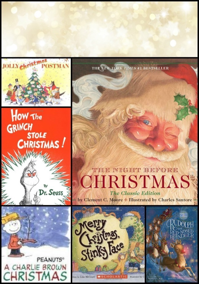 25 classic christmas books for children