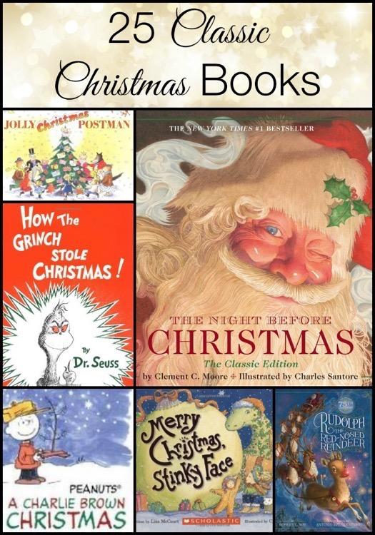 25 Classic Christmas Books For Children