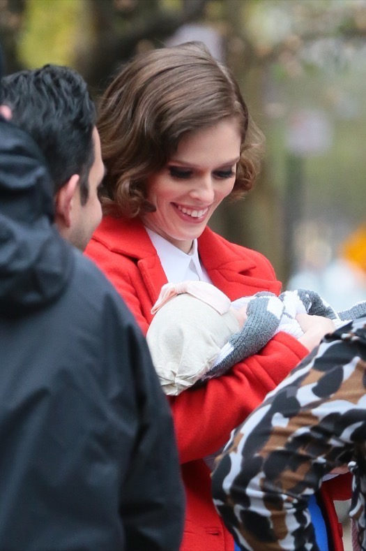 Pregnant Coco Rocha Stays Busy Working