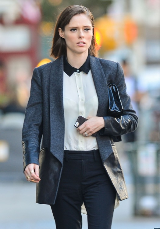 Pregnant Coco Rocha Steps Out