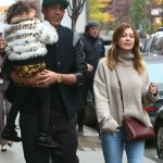 Ellen Pompeo & Family Stroll in NYC