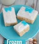 Frozen Inspired Rice Krispie Treat Presents