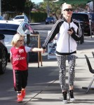 Gwen Stefani Out With Her Boys In West Hollywood