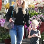 Hilary Duff Spends Saturday With Luca & her Sister