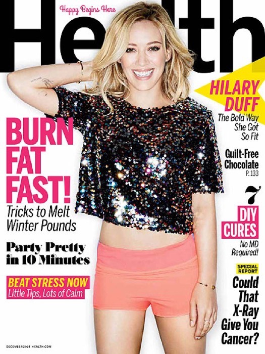 Hilary Duff Health Magazine
