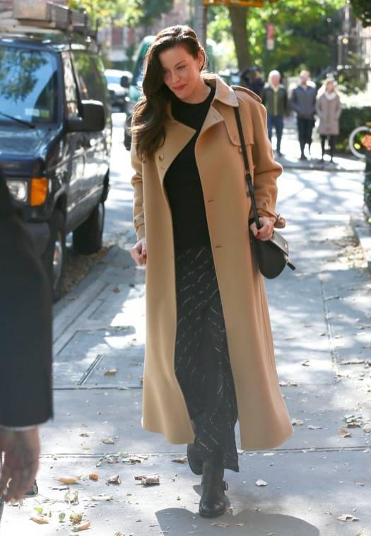 Pregnant Liv Tyler Steps Out In New York