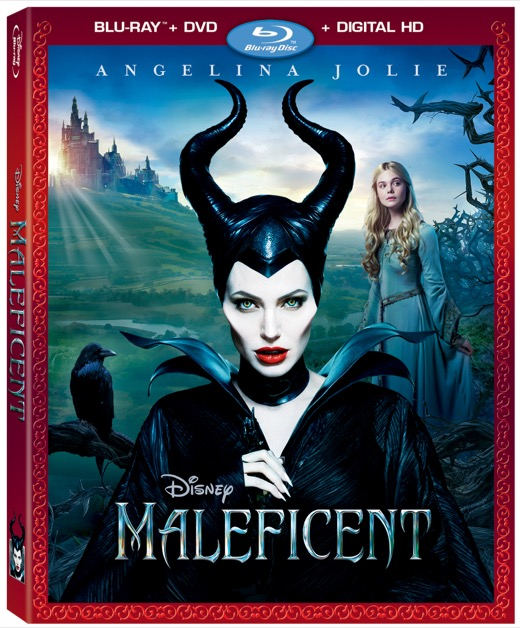 Maleficent Blu-Ray DVD Combo Review