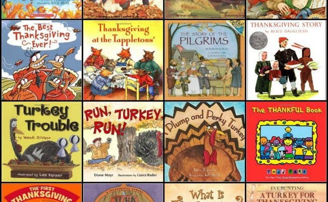 28 Thanksgiving Books For Kids