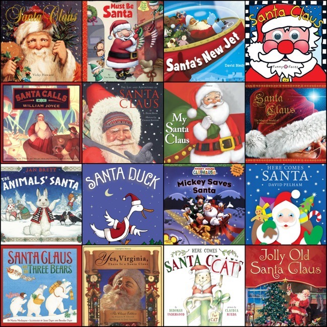 The 25 Best Santa Claus Books For Children