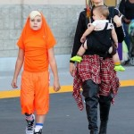 Gwen Stefani Spends The Weekend With Her Boys