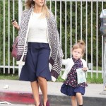 Jessica Alba Spends the Day With Haven