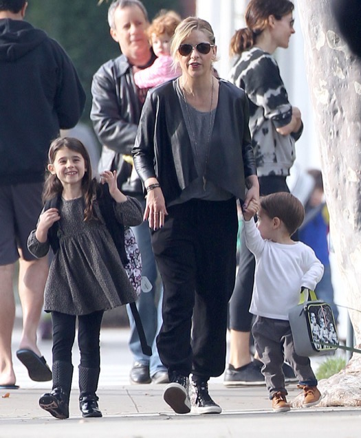 Sarah Michelle Gellar And Daughter Charlotte Out And About ...