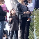 Sarah Michelle Gellar Spends the Day With her Kids