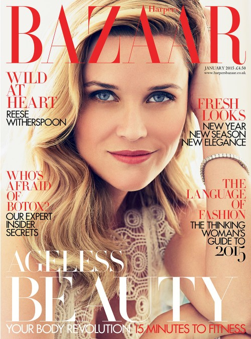 Reese Witherspoon in Bazaar