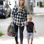 Hilary Duff Takes Luca to a Baby Class Before The Holidays