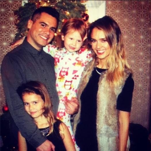 Jessica Alba & Family Had a Very Merry Christmas