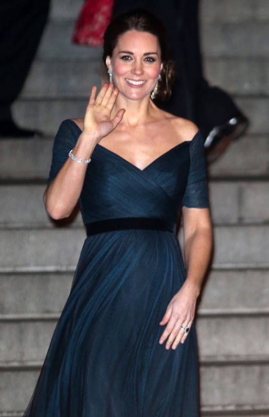 Kate Middleton Looks Stunning at the St. Andrew's 600th Anniversary Dinner