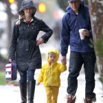 Reese Witherspoon Braves The Rain