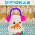 Frugal Flowerpot Snowman Craft For Kids
