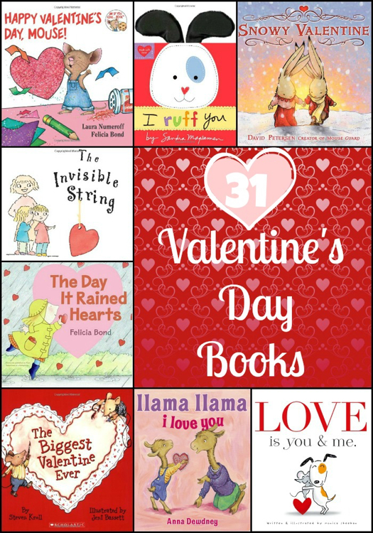 31 Valentine's Day Books For Kids