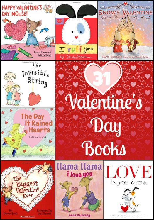 31 Valentine's Day Books For Kids