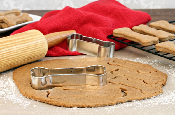 Making Dog Biscuits