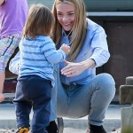 Jaime King Enjoys a Park Day With Family