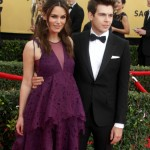 Keira Knightley Glows While Walking The SAG Awards Red Carpet