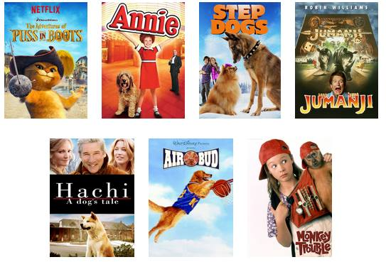 Pet Friendly Shows on Netflix - Bigger Kids