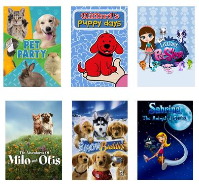 Pet Friendly Shows on Netflix - Young