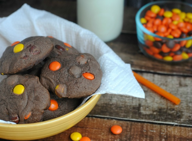Reese's Pieces Chocolate Cookies Kids Will Love