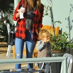 Alessandra Ambrosio Picks Up Coffee Before Visiting Disneyland