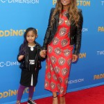 Christina Milan Walks the Paddington Premiere With Violet