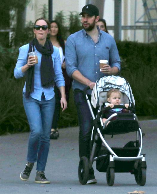 Exclusive... Emily Blunt & John Krasinski Take Hazel Out ... Blake Lively Instagram