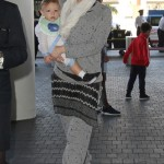 Gwen Stefani Jets Off With Apollo