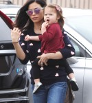 Jenna Dewan Stops By Rite Aid With Everly