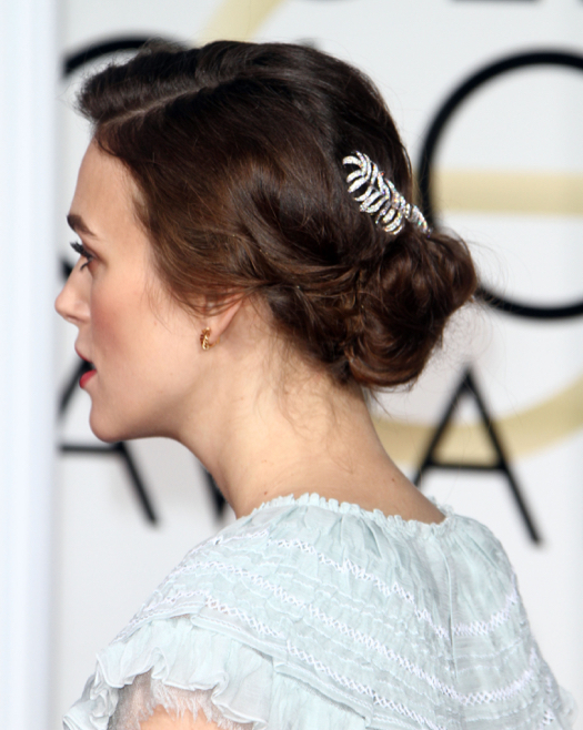Keira Knightley Glows at the 72nd Annual Golden Globe Awards