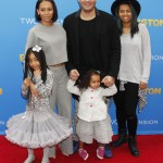 Melanie Brown & Family Attend the Paddington Premiere